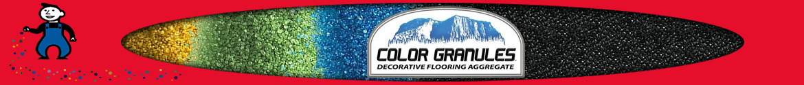 Epoxy Floor Color - Color Granules