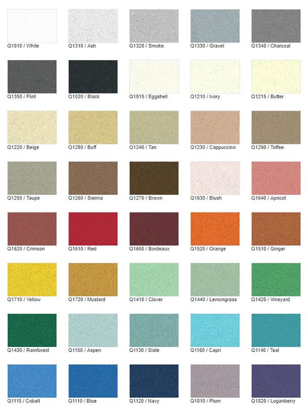 Epoxy Floor Colors And Textures Epoxy Flooring Llc